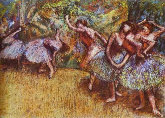 Edgar Degas Ballet Scene_