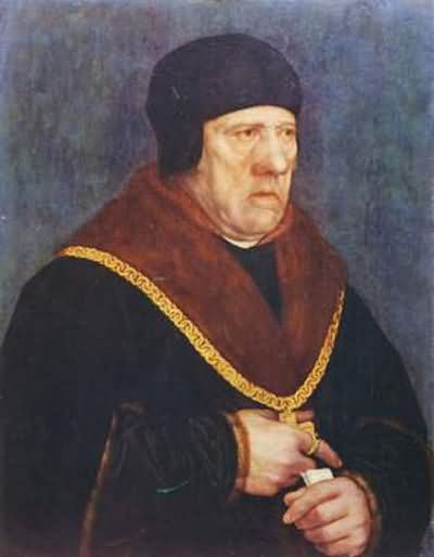 Hans Holbein the Younger Portrait of Sir Henry Wyatt