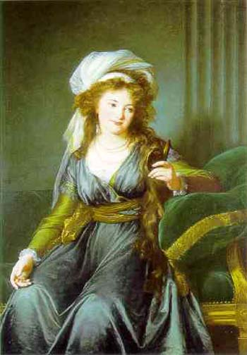 Louise Elisabeth Vigee Lebrun Portrait of Countess Catherine Skavronskaya