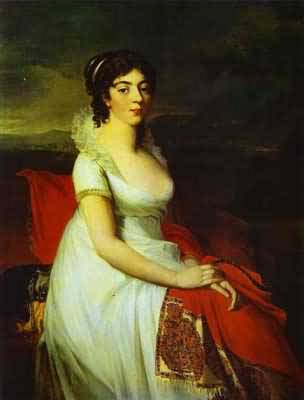 Jean Laurent Mosnier Portrait of Countess Elisabeth Shakhovskaya