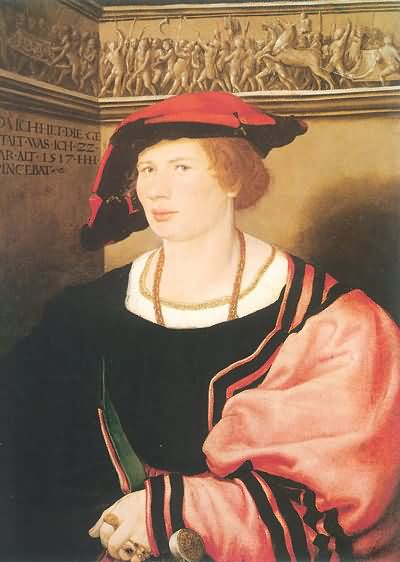 Hans Holbein the Younger Portrait of Dorothea Kannengiesser