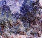 A casa de Giverny vista do roseiral - Claude Monet