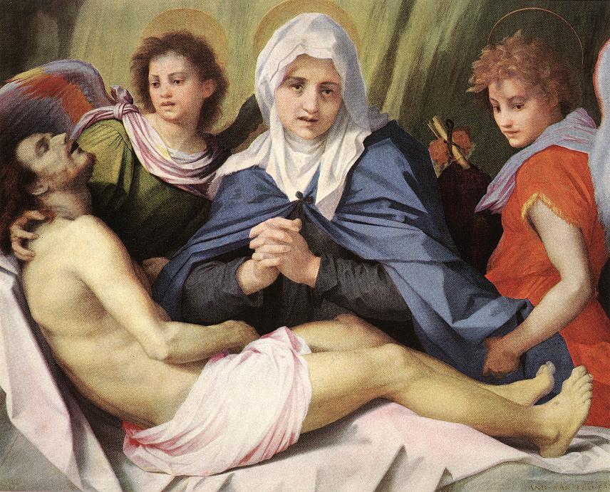ANDREA DEL SARTO Lamentation of Christ