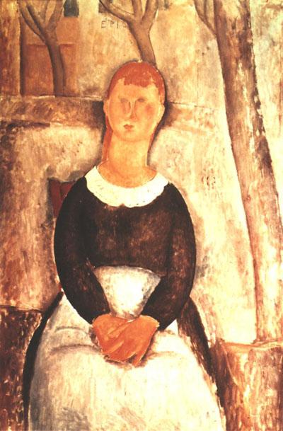 Amedeo Modigliani La Belle Epiciere