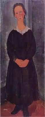 Amedeo Modigliani The Servant Girl
