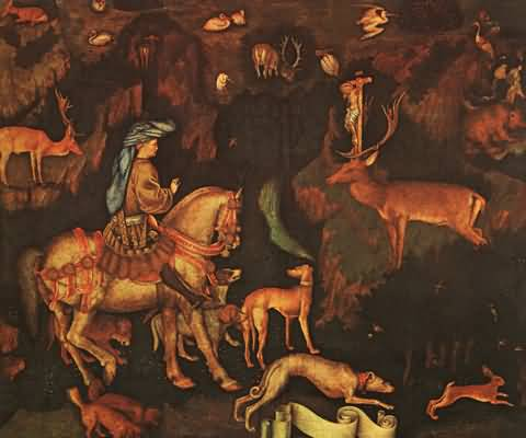 Antonio Pisanello The Vision of St Eustace