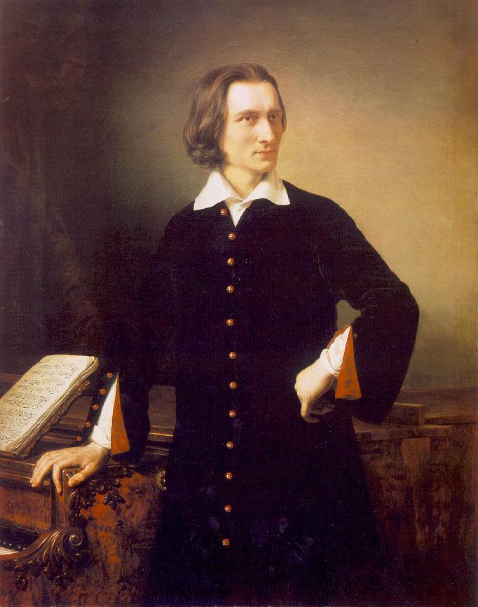 BARABAS Miklos Portrait of Franz Liszt