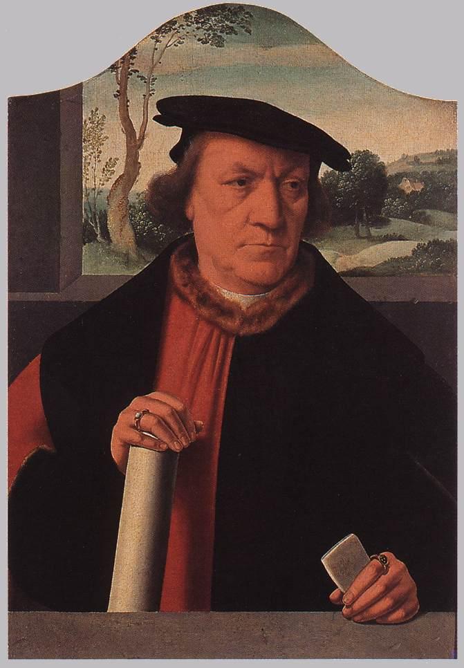 BRUYN Barthel Burgomaster Arnold von Brauweiler