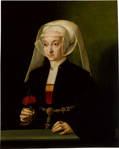 BRUYN Barthel Portrait of a Young Woman