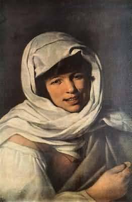 Bartolome Esteban Murillo The Girl with a Coin Girl of Galicia