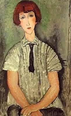 Berthe Morisot Portrait of a Young Girl