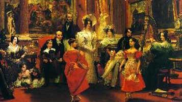 C R Leslie 1820 The Grosvenor Family