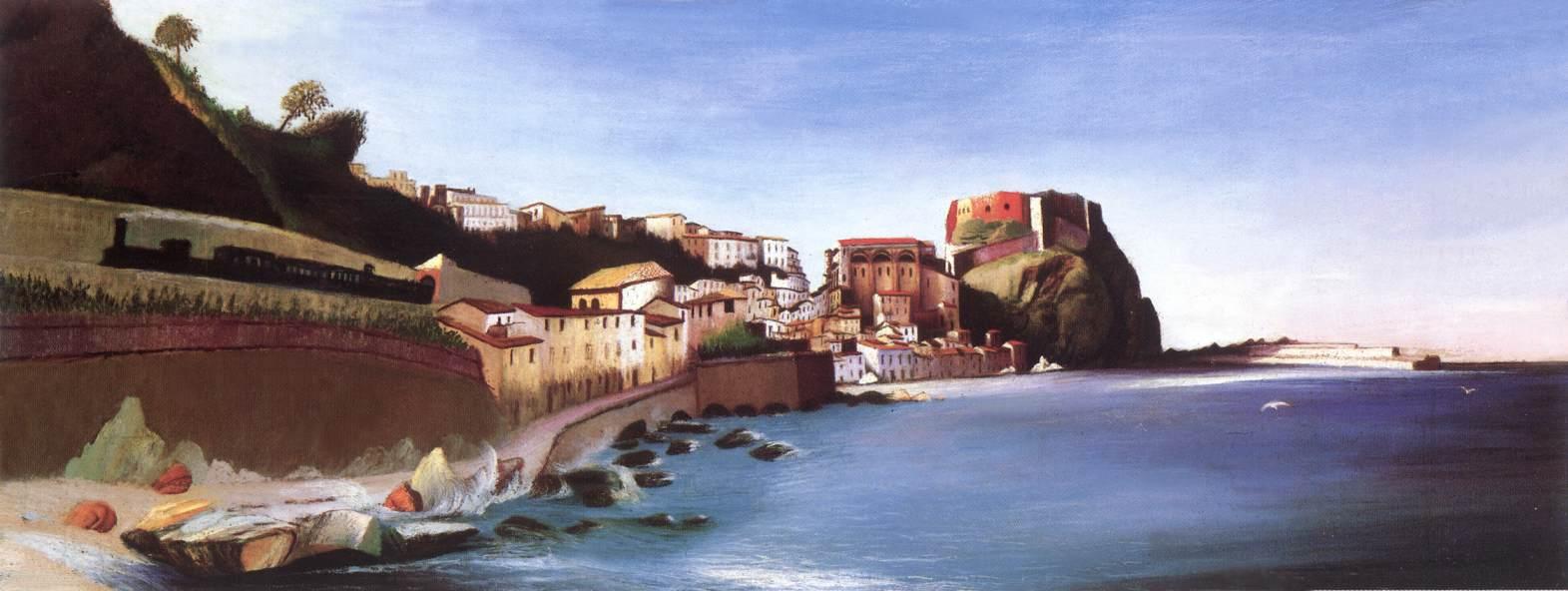 CSONTVARY KOSZTKA Tivadar Town at the Seashore
