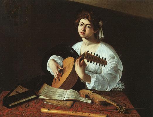 Caravaggio The Lute-Player