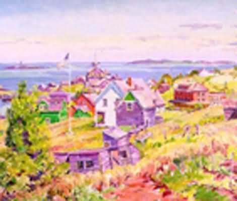 Charles Ebert Island Village
