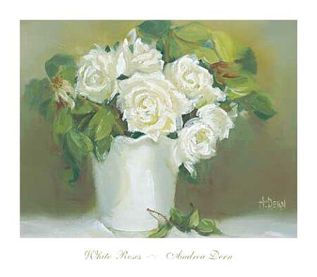 Dern Andrea White Roses