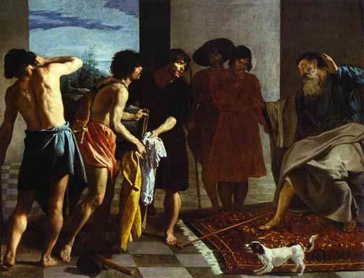 Diego Velazquez Joseph s Bloody Coat Brought to Jacob