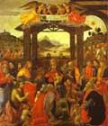 Domenico Ghirlandaio The Adoration of the Magi