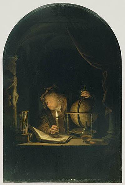 Duccio di Buoninsegna Astronomer by Candlelight
