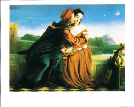 Dyce William Paolo Und Francesca 1837
