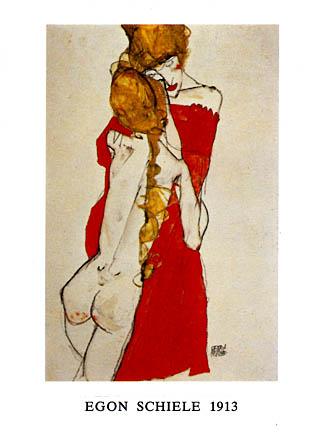 Egon Schiele Mutter Ind Tochter 1913