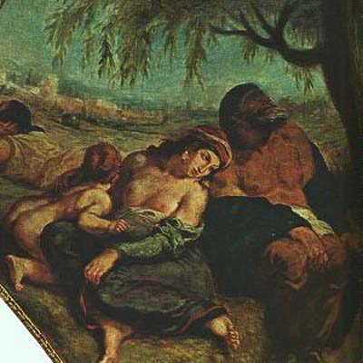 Eugene Delacroix The Babylonian Captivity