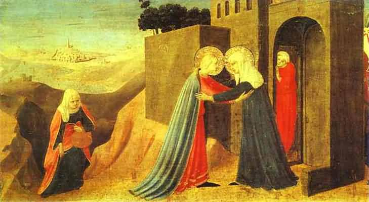 Fra Angelico Annunciation. The Visitation