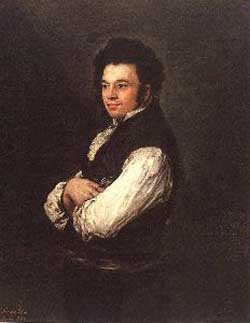 Francisco Goya The Architect Don Tiburcio Perez y Cuervo