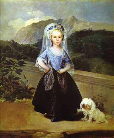 Francisco de Goya y Lucientes Maria Teresa de Borbon y Vallabriga