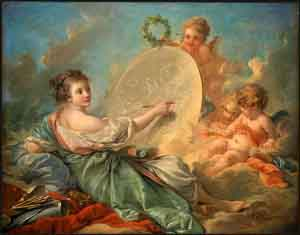Francois Boucher Allegory of Painting