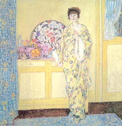 Frederick Carl Frieseke The Yellow Room