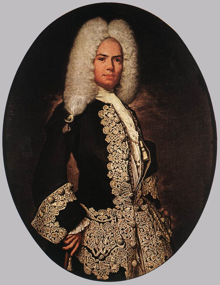 GHISLANDI Vittore Portrait of a Gentleman 1