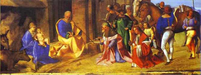 Giorgione Adoration of the Magi