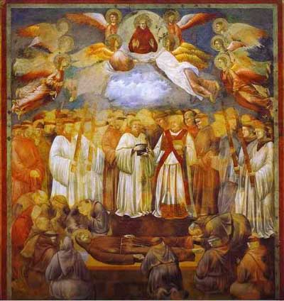 Giotto Death of St Francis