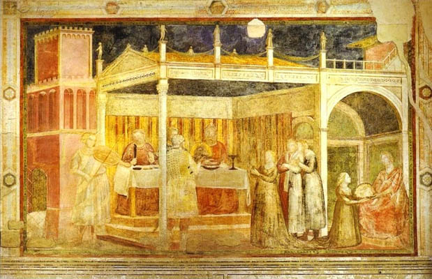 Giotto The Feast of Herod