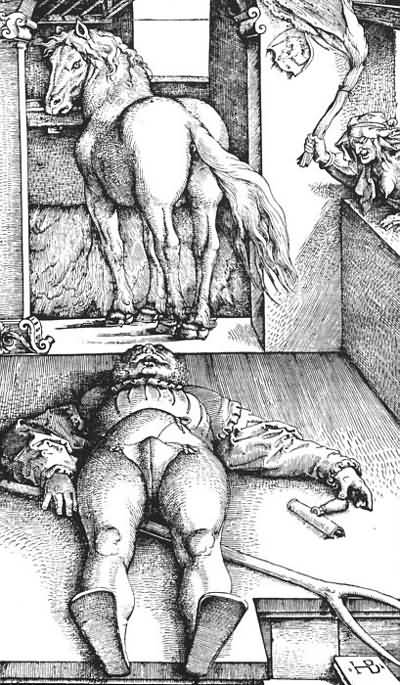Hans Baldung The Bewitched Groom