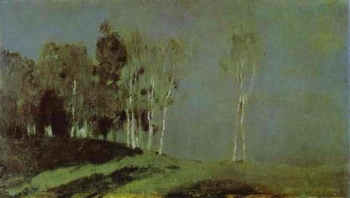Isaac Levitan Moonlit Night
