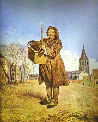 Jean Antoine Watteau The Savoyard with a Marmot