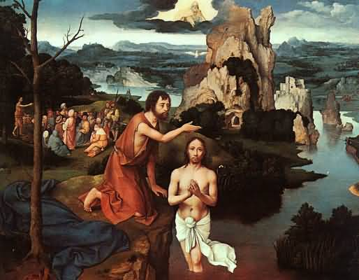 Joachim Patinir The Baptism of Christ