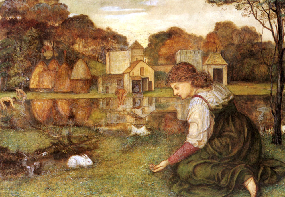 John Roddam Spencer Stanhope The White Rabbit