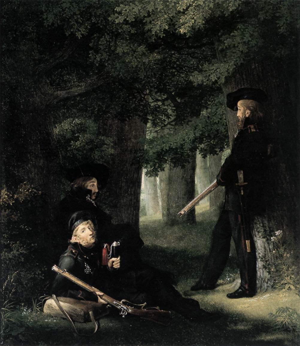KERSTING Georg Friedrich On Outpost Duty
