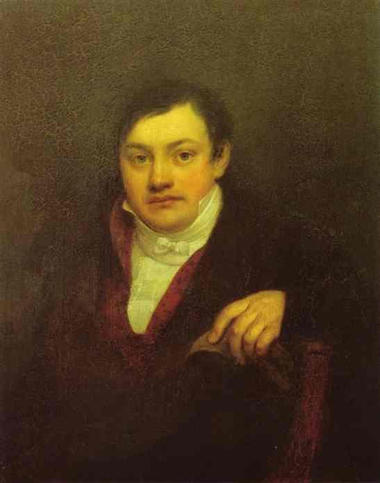 Kiprensky Orest Portrait of A I Kusov