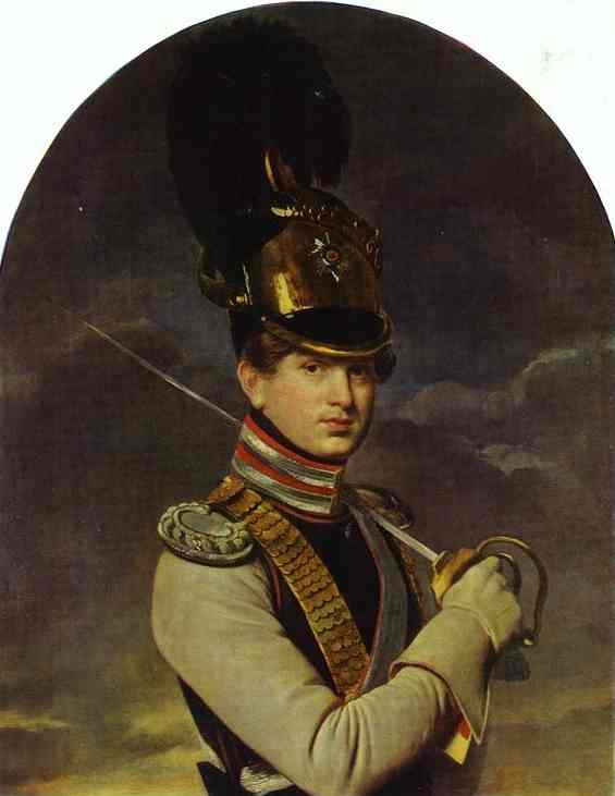 Kiprensky Orest ortrait of the Prince N P Trubetzkoy