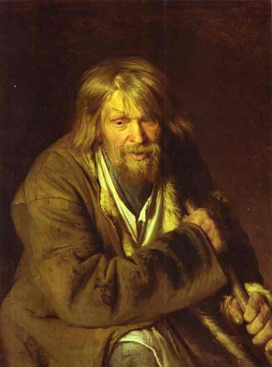 Kramskoy Ivan Portrait of an Old Peasant
