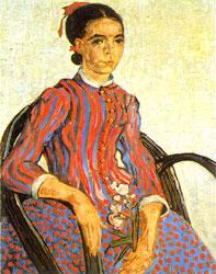 La Mousme - Vincent Van Gogh