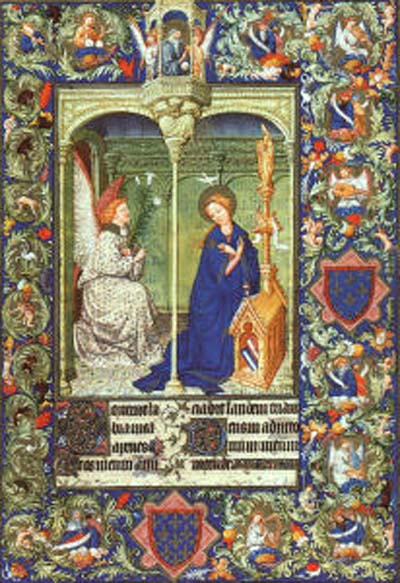 Limbourg Brothers The Annunciation