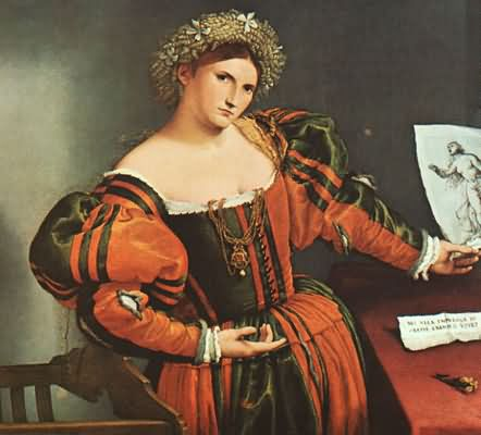 Lorenzo Lotto A Lady as Lucretia