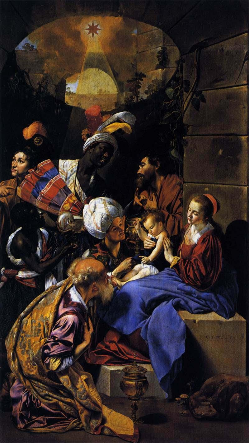 MAINO Fray Juan Bautista Adoration of the Kings