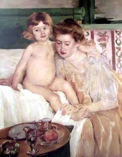 Mary Cassatt The Horse Chestnut