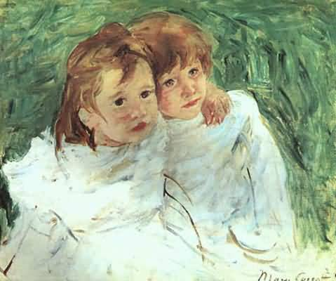 Mary Cassatt The Sisters